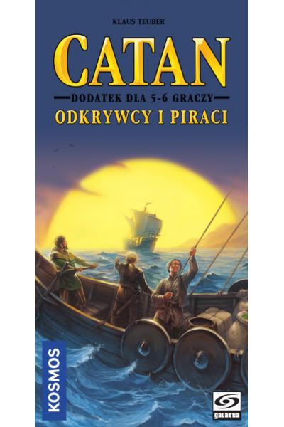 Catan Odkrywcy i Piraci Dodatek dla 5-6 graczy