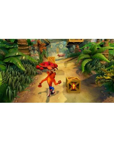 Crash Bandicoot N. Sane Trilogy + nakładki na analogi