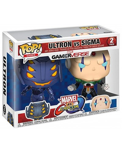 Figurka Funko POP Vinyl Marvel vs Capcom Ultron & Sigma