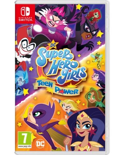 DC Super Hero Girls Teen Power + nakładki na analogi