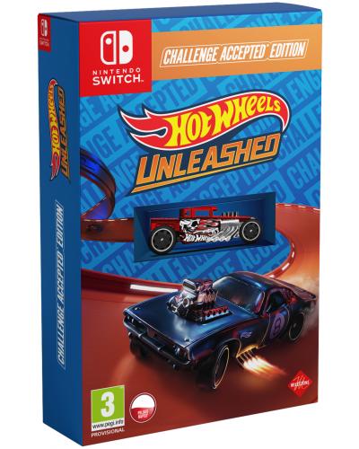 Hot Wheels Unleashed Challenge Accepted Edition PL + DLC + nakładki na analogi