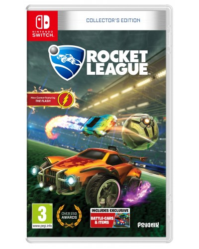 Rocket League Collectors Edition + nakładki na analogi