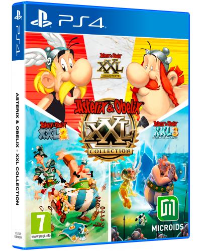 Asterix & Obelix XXL Collection + nakładki na analogi