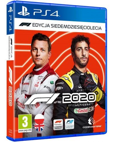 F1 2020 Edycja Siedemdziesięciolecia PL + nakładki na analogi