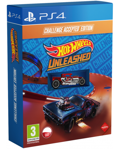 Hot Wheels Unleashed Challenge Accepted Edition PL + DLC + nakładki na analogi