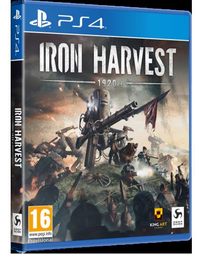 Iron Harvest D1 Edition + nakładki na analogi