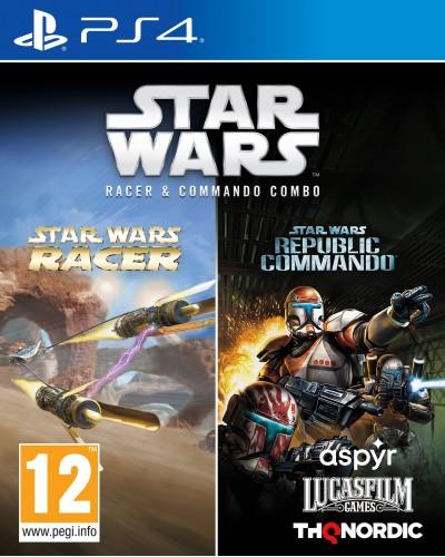 Star Wars Racer and Commando Combo + nakładki na analogi