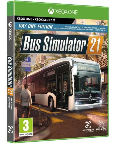 Bus Simulator 21 Day One Edition PL + nakładki na analogi