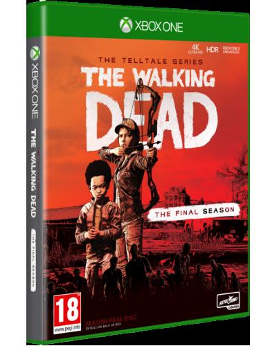The Walking Dead Final Season + nakładki na analogi