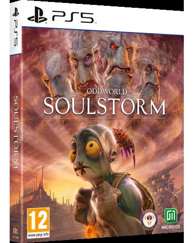 Oddworld Soulstorm Day One Edition PL + nakładki na analogi