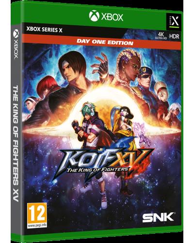 The King of Fighters XV Day One Edition + nakładki na analogi