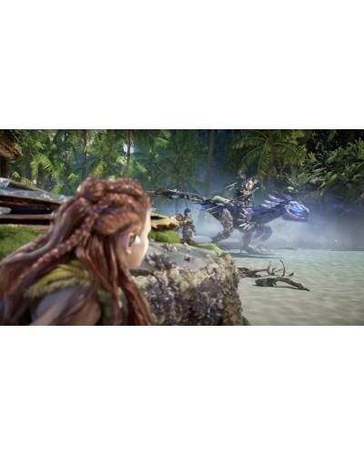 Horizon Forbidden West PS4 PL + nakładki na analogi