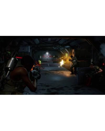 Aliens Fireteam Elite + nakładki na analogi
