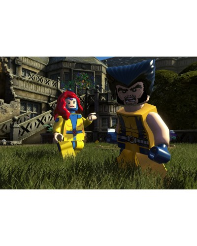 LEGO Marvel Collection + nakładki na analogi