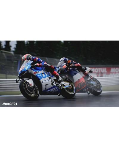 MotoGP 21 + nakładki na analogi